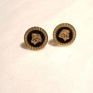 Medusa Head Stud Earrings